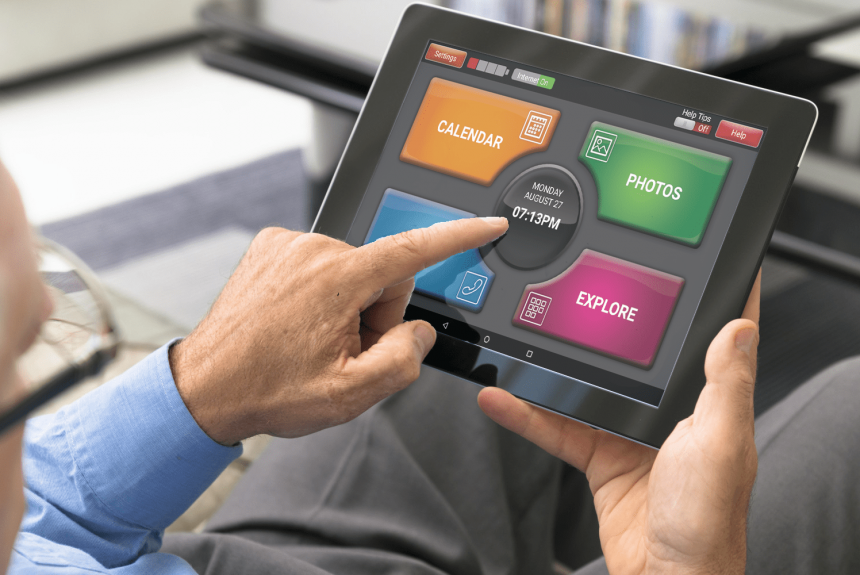 Acorn's age-friendly tablet keeps the elderly connected during Covid