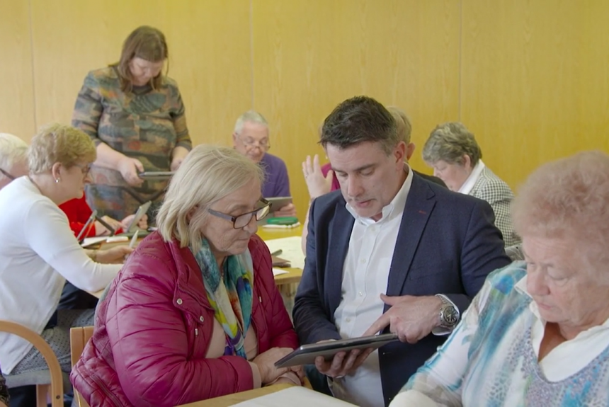Limerick tablet project aimed at reducing levels of social isolation among older people